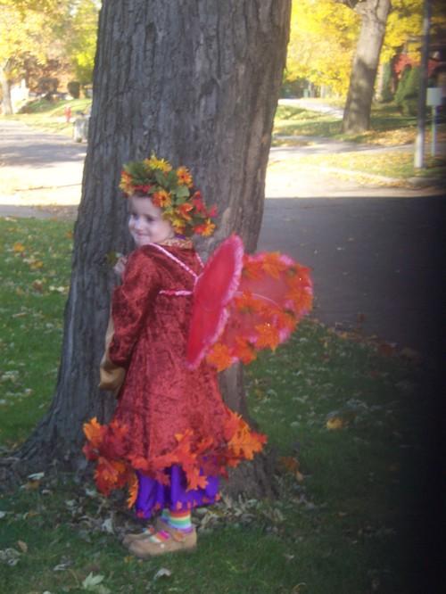 Morrigan's Halloween Costume